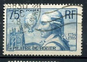 BEAU TIMBRE N° 313 OBLITERE EN 1938
