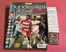 Panini komplett Bundesliga 08/09 + Album Leeralbum alle Sticker 2008/2009