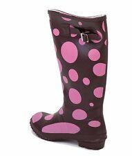 LADIES WOMENS WELLIES Wellington Boots SUMMER FESTIVAL FASHION SIZE 3 4 5 6 7 8