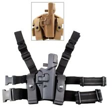 Tactical Right Hand Leg Thigh Level 3 Lock Duty Holster for Glock 17 19 22 23 31