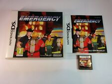 Emergency - Nintendo DS - 2DS 3DS DSi - Free, Fast P&P!