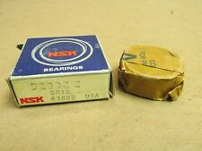 NIB NSK 5203ZZ BEARING METAL SEALED 5203 ZZ 17x40x17.4 mm 11/16 mm W MADE IN USA
