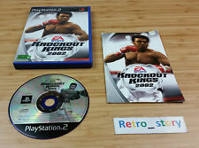 PS2 Knockout Kings 2002 PAL
