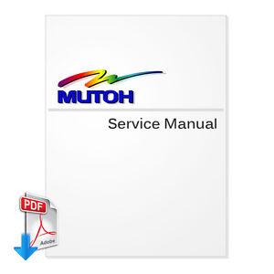 PDF File - MUTOH ValueJet 1204 Service Manual PDF File