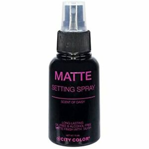 City Color Cosmetics Matte setting Spray Fast free shipping W3231