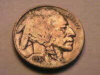 1937-P Buffalo Nickel Sharp About Unc Ch AU Lustrous Orig Indian Head 5C US Coin