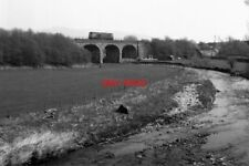 PHOTO  1987 BANK NEWTON YORKSHIRE RAILWAY VIADUCT OVER THE RIVER AIRE THE RAILWA