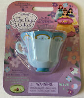 NEW Disney Tea Cup Cuties Princess Figure with Tray Wave 1 Alice In Wonderland