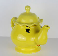 Large Handmade Belle et la Bête Théière Mrs Potts Chip tea pot 1.1 L