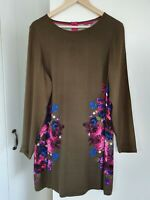 Joules floral Elizabeth shift dress size 12 - only worn a couple of times, VGC