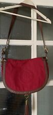 Juicy Couture Canvas/Leather Cross Body Bag