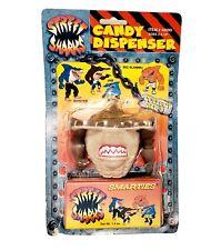 Vintage 1995 Street Sharks Jab Smarties Candy Dispenser New Damaged Card