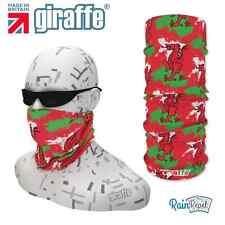 G401 Wales Dragon Flag Headgear Neckwarmer multifunctional Bandana Headband