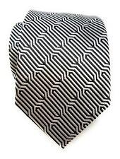 Labiyeur Woven Jacquard Geometric Ys Medium Men's Tie Necktie