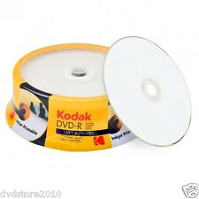 Kodak DVD -R 4.7 GB 120 minuti 16x Full surface Printable inkjet K1430325