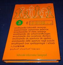 Enzyklopädie der Schacheröffnungen E1. d4 Spriger f6 2.c4 e6 / 1.d4 Springer f6