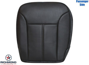 2010-2012 Mercedes Benz GL450 - Passenger Side Bottom Leather Seat Cover Black