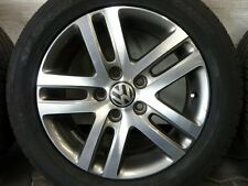 ALUFELGEN ORIGINAL VW ATLANTA GOLF 5 V 6 VI TOURAN CADDY REIFEN 205/55 16 DUNLOP