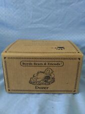 """Boyds Bears Bubba Bearstone Figurines - Set of 2, """"Dozer"""" and """"Jeb and Friend"""""""