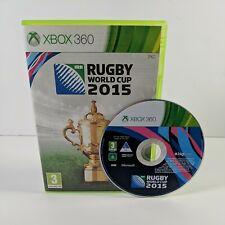 Xbox 360 Rugby WM 2015 Game PAL UK