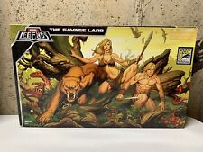Hasbro Marvel Legends SDCC The Savage Land set