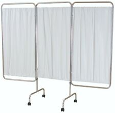 10 x Three panel folding aluminium mobile screen frame