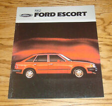 Original 1982 Ford Escort Sales Brochure 82 1/82 GLX GL L GT Wagon