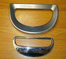 POWER HEAD TRIM RINGS Genuine SHARK NAVIGATOR UV440 Silver Gray Replacement Part
