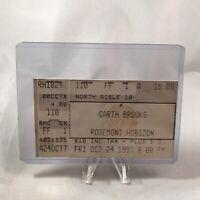 Garth Brooks Rosemont Horizon Illinois Concert Ticket Stub Vtg October 24 1997
