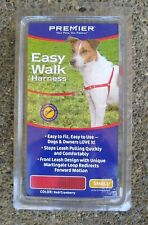 New listing Premier Easy Walk Dog Puppy Walk Harness Size Small Soft Nylon Red/Cranberry