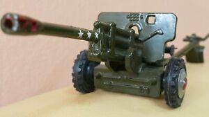 VINTAGE TOY CANNON ANTITANK ZIS-3 76mm Gun Artillery AUTO CANNON USSR COMMUNIST
