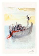 Divine Comedy Purgatory 2 by Salvador Dali A4 Art Print