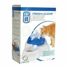 Catit 3L Water Fountain with Food Bowl
