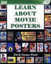 B007 LEARN ABOUT MOVIE POSTERS, over 400 pages in guide Book, 1st edition