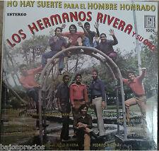 RARE salsa LP LOS HERMANOS RIVERA  ORQUESTA no hay suerte para el hombre honrado