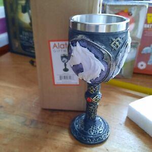Novelty Unicorn Elixir Goblet Ornament Magical Mythical Decoration Nemesis Now