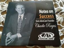 5 Advocare Notes On Success ( Charlie Ragus)  Cd's