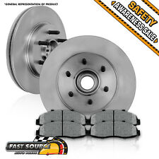 Front OE Brake Rotors and Metallic Pads Set 2006 2007 2008 FORD F150 MARK LT 2WD