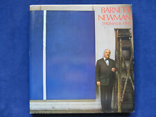BARNETT NEWMAN by THOMAS B HESS - SIGNED by NEWMAN'S WIDOW to HENRY GELDZAHLER