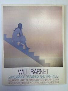 Will Barnet Stairs To The Sea 1980 Museum Exhibition Poster Expressionism