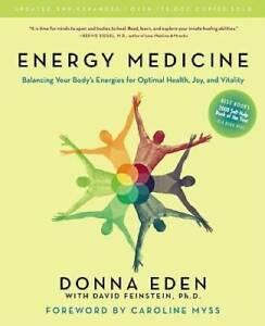 Energy Medicine: Balancing Your Body's Energies for Optimal Health, Joy,  - GOOD