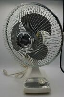 Vintage Galaxy Fan 16'  RARE works great 2 speed type 9 style 5/8