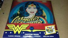 Wonder woman Rainbow  Glass Chopping Board  Funko DC COMICS RETRO GIFT