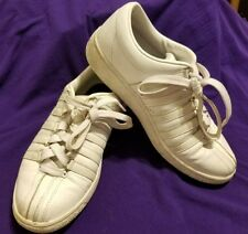 K • Swiss Classic Luxury Edition White Tennis Shoes womens leather 7.5 used