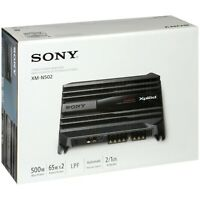 ORIGINAL Sony XPLOD XM-N502 2 Channel 500 Watts Class AB Car Amp Amplifier