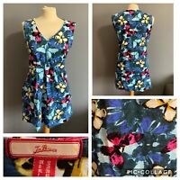 Women's Size 12 Joe Browns Butterfly Pattern Summer Short Cute Dress