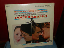 DOCTOR ZHIVAGO The Original SOUNDTRACK Album LP SIE6-STX MGM RECORDS DAVID LEAN