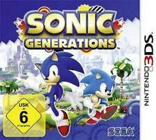 NINTENDO 3DS Sonic Generations 3DS  Neuwertig