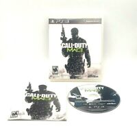 Call Of Duty Mw3 Sony PlayStation 3 PS3 Complete Tested Very Good Activision