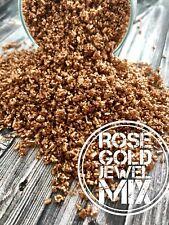 Rose Gold Jewel Sugar Crystals Sprinkles Cake Cupcake Cookie Edible